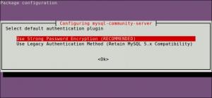 mysql select authentication