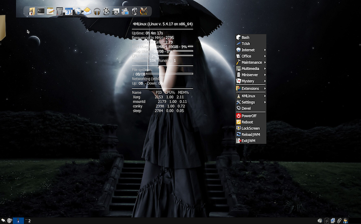 4MLinux : Distro Linux Ringan dengan Konsep 4M